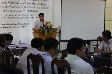Hội thảo Quốc tế về Hợp tác bảo tồn liên biên giới giữa Vườn quốc gia Phong Nha - Kẻ Bàng và Khu bảo tồn Quốc gia Hin Nậm Nô, tỉnh Khăm Muộn, nước CHD